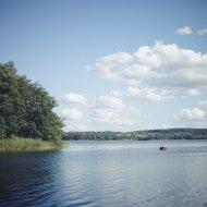 krajobraz na Mazurach